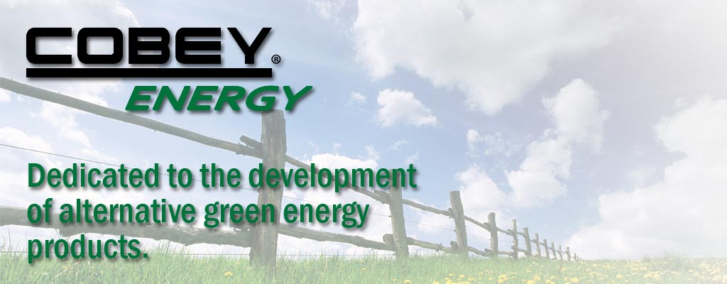 Cobey Energy Alternative Green Energy Products