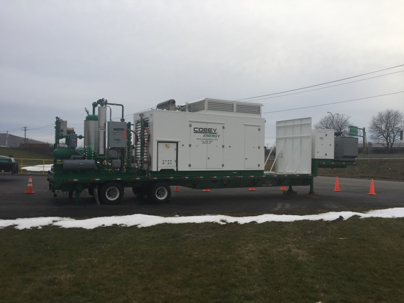 Cobey Energy CE-C250 CNG Tube Trailer filling system