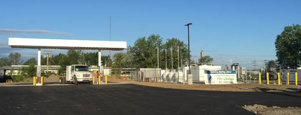 Nexus Natural Gas CNG Vehicle Fueling Station