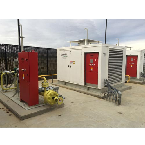 Cobey Energy CNG Compressor Package Vehicle Fueling Station